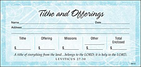 tithe envelope 2